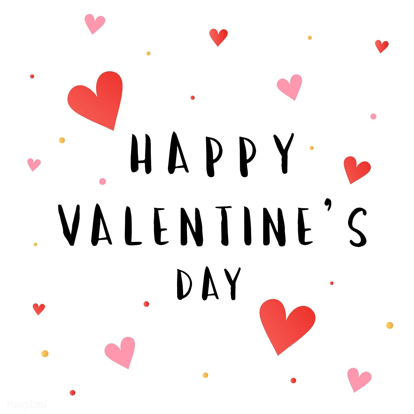 Download Free Vector Of Happy Valentines Day Card Vector 566614
