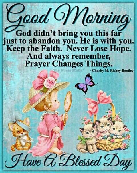 Good Morning Blessings Inspirations