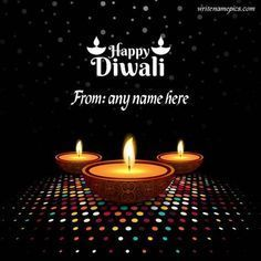 Happy Diwali 2020 Wishes Greeting Card With Name Images Free Download. The Best Idea Of Diwali Wishes For Friend And Family Latest Greeting Card With A Name. Print Your Name On Happy Diwali Card Photos. Online Download Happy Diwali Whatsapp Status And Profile Picture. Diwali Diya Decoration Images Free Download. Happy Diwali Diya 3D Design Latest Card With Name Images #Happydiwaligreetings
