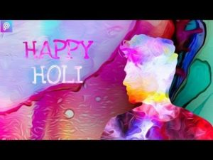 Happy Holi Photo Editing 2019 - Painting Effect in PicsArt