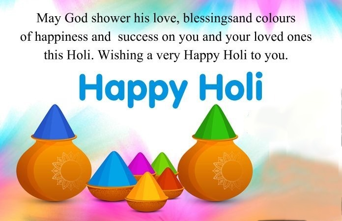 Happy Holi Quotes | Best Happy Holi Wishes, Quotes, Greeting & Messages