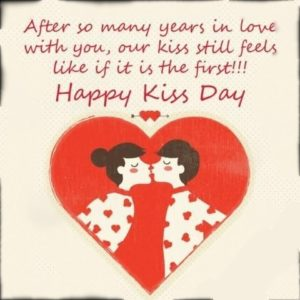 Happy Kiss Day Wishes, Status, Greeting, Images For WhatsApp Free Download
