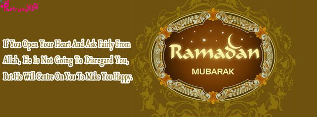 Happy Ramzan Text Messages With Ramzan Images