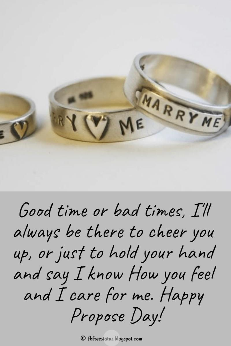 Love Proposal Messages For Propose Day