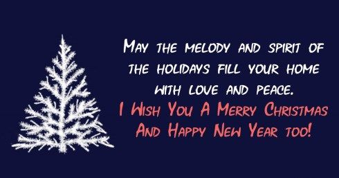 Merry Christmas And Happy New Year Wishes Images 2021