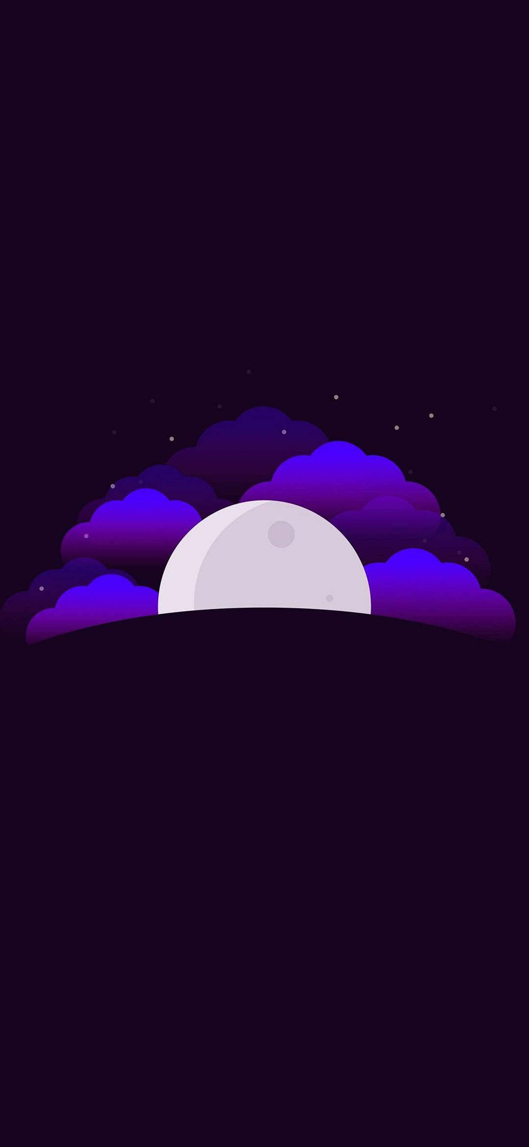 Moon Minimalist Full HD Huawei P40 Wallpaper Download