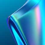 Oppo K3 BlueShine Wallpaper