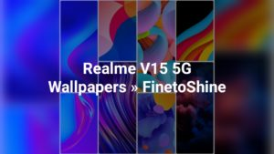 Realme V15 5G Wallpapers