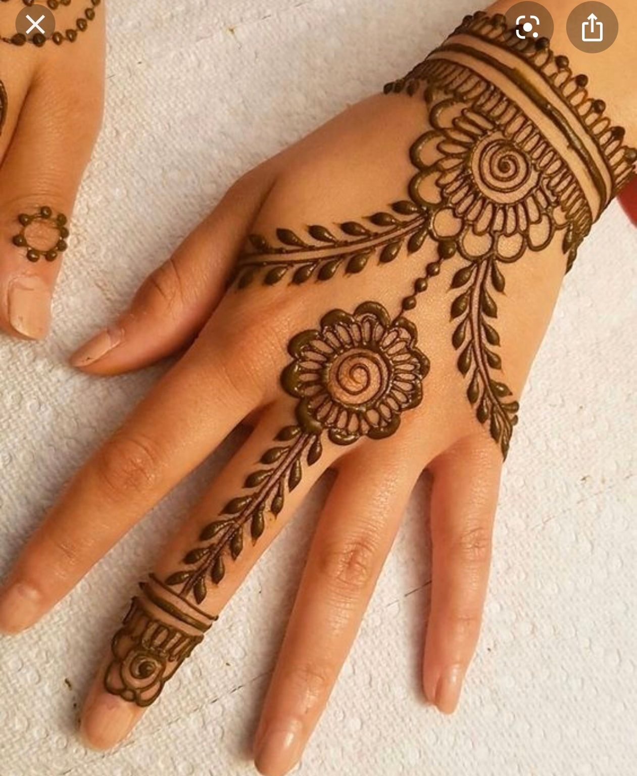 मेहंदी डिजाइन | Simple Mehndi Designs for Girls & Ladies