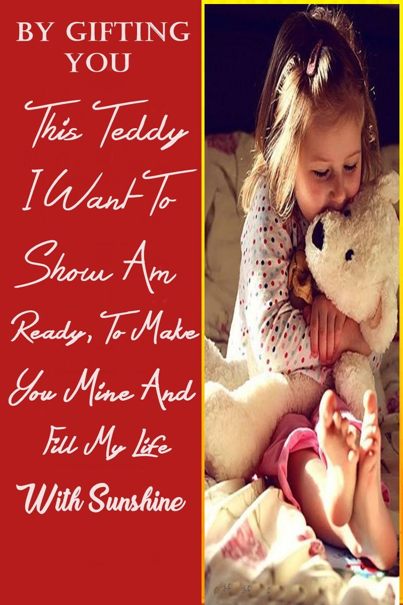 Teddy Day Quotes For Girlfriend And Boyfriend