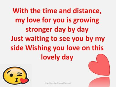 Valentines Day Messages For Long Distance Relationship