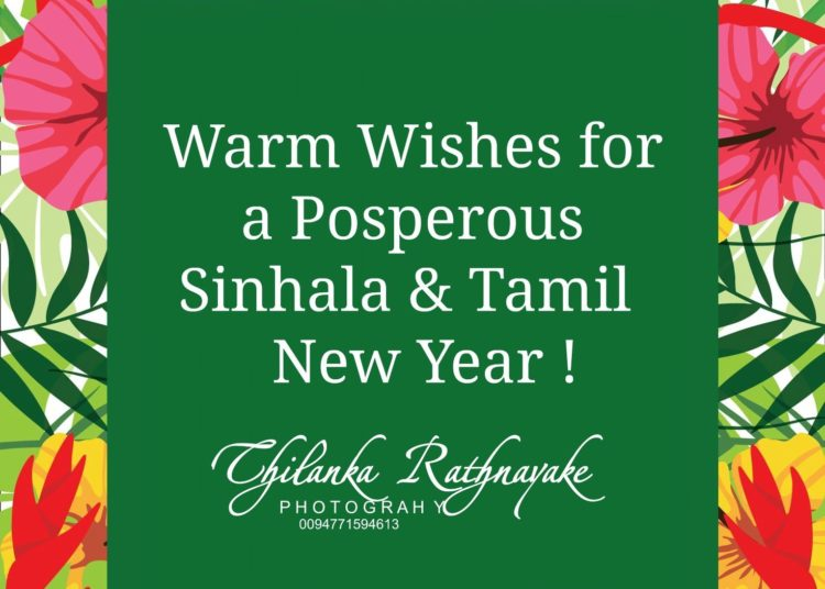 &Quot; Warm Wishes For A Posperous Sinhala And Tamil New Year ..! &Quot; #Thilankarathnayk...