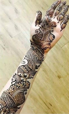Latest arabic mehndi designs for hands   Henna patterns for all occasions