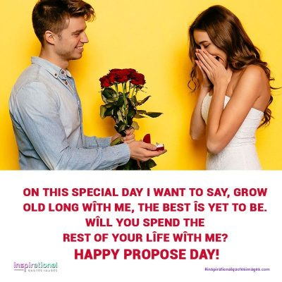 Happy Propose Day - : Images, Wishes, Messages, Quotes, SMS