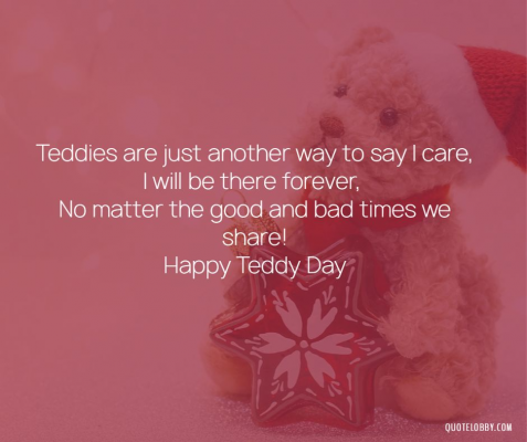 Valentines Day Wallpaper Happy Teddy Day- Quote Lobby