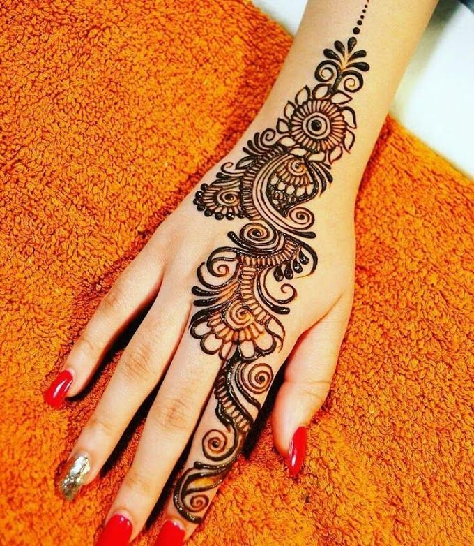 Best Simple and Easy Mehndi Designs